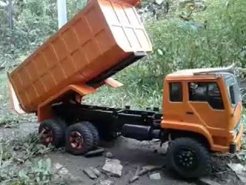 Rc fuso dump truk hand made youtube rc fuso dump truk hand made thecheapjerseys Choice Image