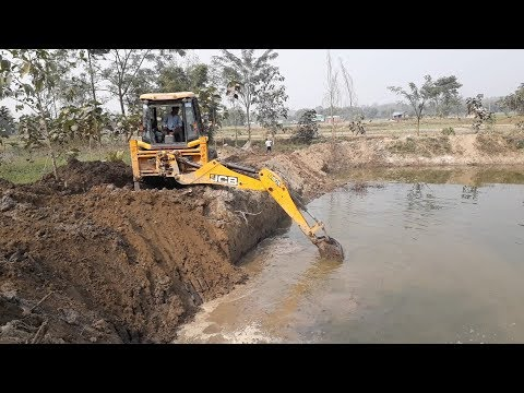 JCB Dozer Working on Mud - JCB Digger Video 6