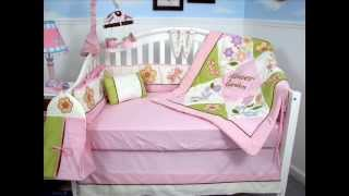 Mystic Garden Baby Crib Nursery Bedding Set 13 Pcs ; Garden Crib Bedding