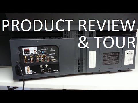 RCA HD61LPW42 DLP Rear Projection HDTV Review & Tour