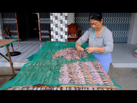 Sông nước miệt vườn: Độc đáo nghề làm khô Nhái