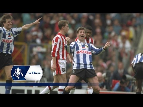 Chris Waddle scores a magnificent FA Cup goal | From The Archive