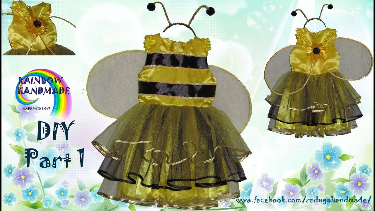 Костюм пчелки своими руками для девочки из подручных материалов фото 692