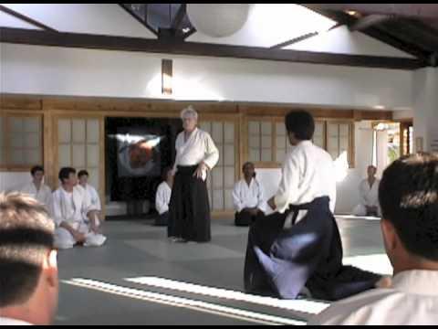 Shihan Harvey Koningsberg at Aikido Santa Barbara 2008 HD