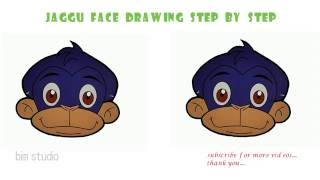 How to draw Chota Bheem jaggu