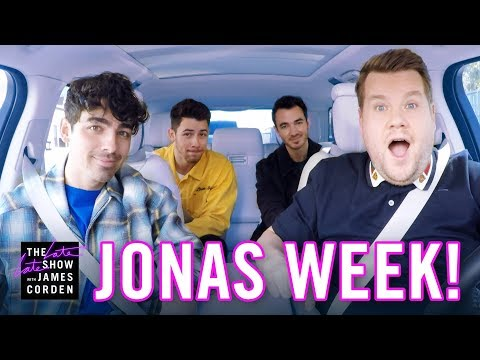Chris Davis - The Jonas Brothers are BACK! James Corden picks up Joe, Nick and Kevin...