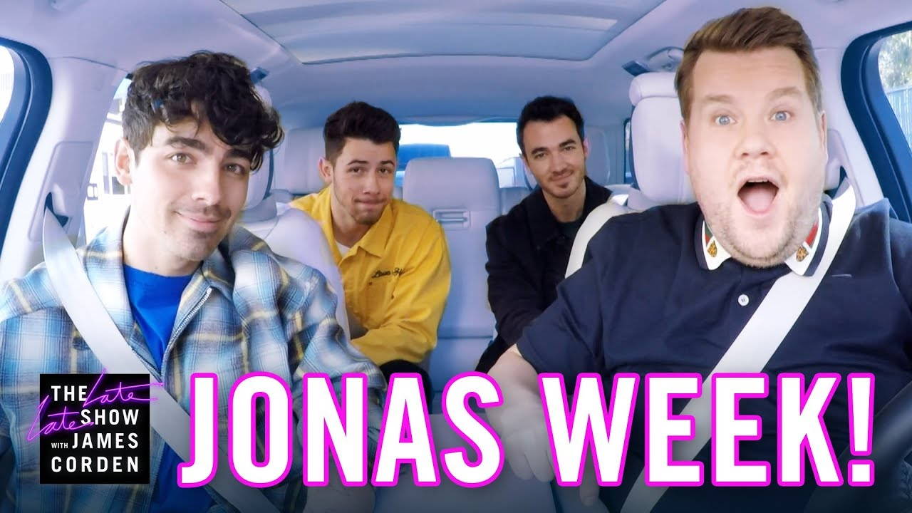 Image result for jonas brothers carpool karaoke