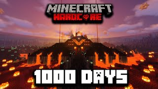 I Survived 1000 Days in Hardcore Minecraft... Here's What Happened