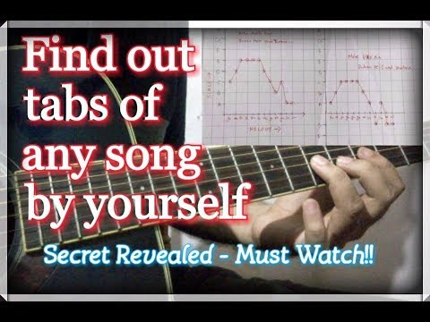 How To Find Lead & Tabs Of Any Song On Guitar | Music Secret Revealed