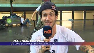 Yvelines | 3 questions à Matthias Dandois, star du BMX Freestyle flat
