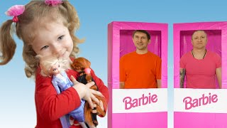 New toys for Sasha. Mom and girls play with new toys. Story for kids  by Sasha Kids Channel.