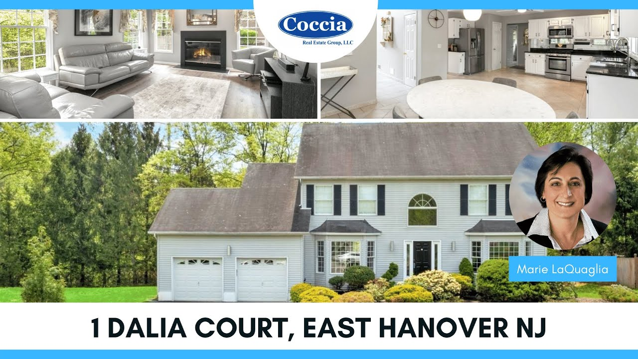 1 Dalia Court   Homes for Sale East Hanover NJ   Morris County