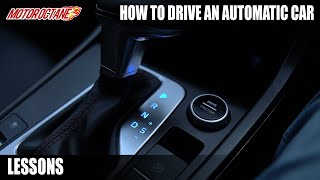 How to drive an AMT/automatic car - Hindi Tutorial