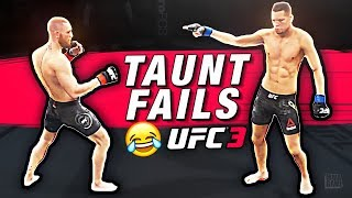 The DANGERS of TAUNTING in EA Sports UFC 3