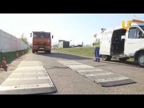 Водители крупногабаритных машин нарушают правила перевозки грузов