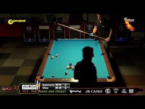 #4 • Francisco BUSTAMANTE vs Jayson SHAW / 2017 WCC One Pocket