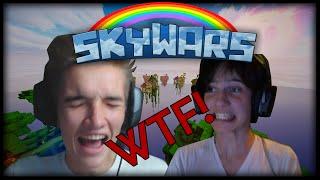 Skywars met Vrienden! - We worden Ger3kt - Ft Gio (GamePlayWorldXL)
