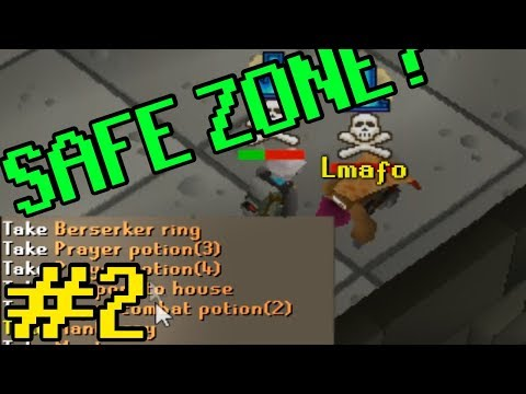 Safe Zone BAITING Pkers #2 (They still think they're safe) OSRS PVP
