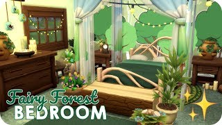 MAGICAL FAIRY FOREST BEDROOM ✨ | Sims 4 Speed Build