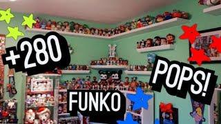 Disney, Pixar, Star Wars Funko POP! Collection!! 280+ FIGURES!! COLLECTING TIPS/ROOM TOUR!!