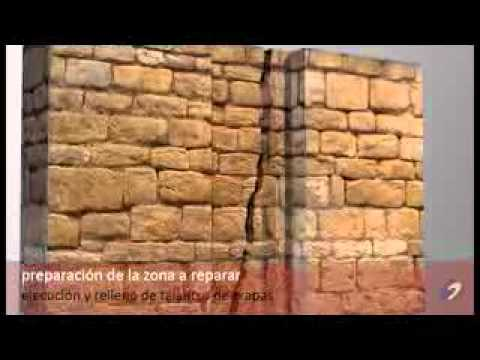 Reparacin de grieta en pared  YouTube