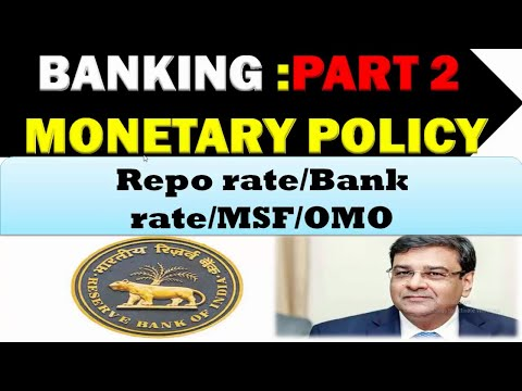 Banking Monetary Policy Part 2|Study for WBCS