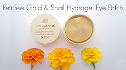 Fail or Holy Grail Review: Petitfee Gold and Snail Hydrogel Eye Patch