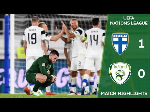 HIGHLIGHTS | Finland 1-0 Ireland - UEFA Nations League