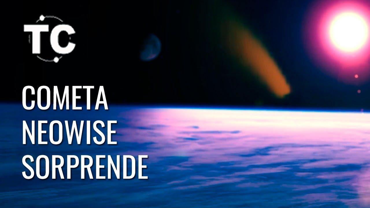 NEOWISE un COMETA Sorprendente, y el 23 de julio...