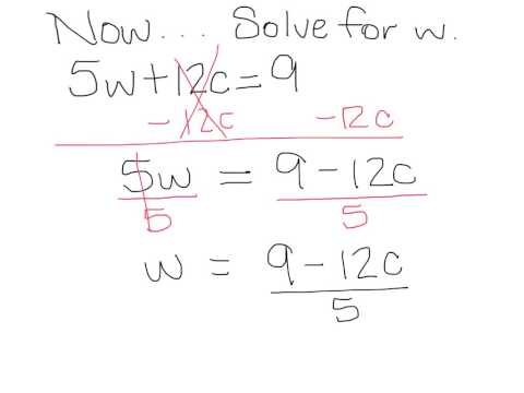 2-8 Literal Equations & Dimensional Analysis