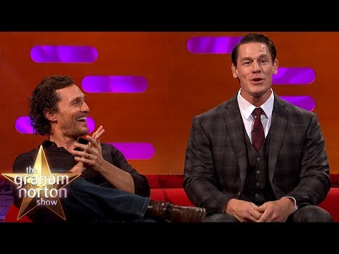 John Cena, Matthew McConaughey & Jamie Oliver Geek Out Over Wrestling | The Graham Norton Show