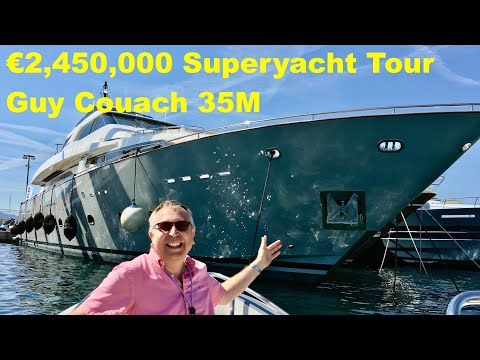 €2,450,000 Superyacht Tour : Guy Couach 35M