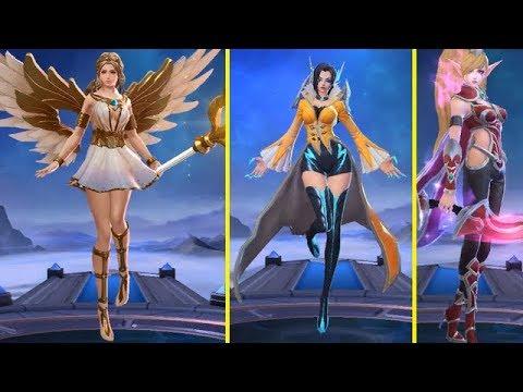 Rafaela, Miya & Eudora Remodel Skin Gameplay (3 Beauty Revamped) - Mobile Legends