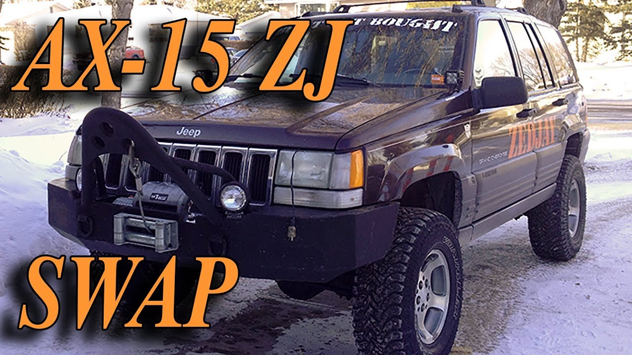 2001 jeep cherokee manual transmission swap