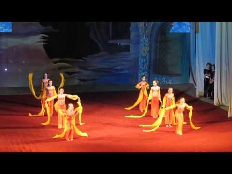 Танец Восточная сказка - студия танца Грация (1 место)