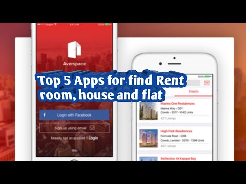 Top 5 Apps for find Rent Room, House, Flat