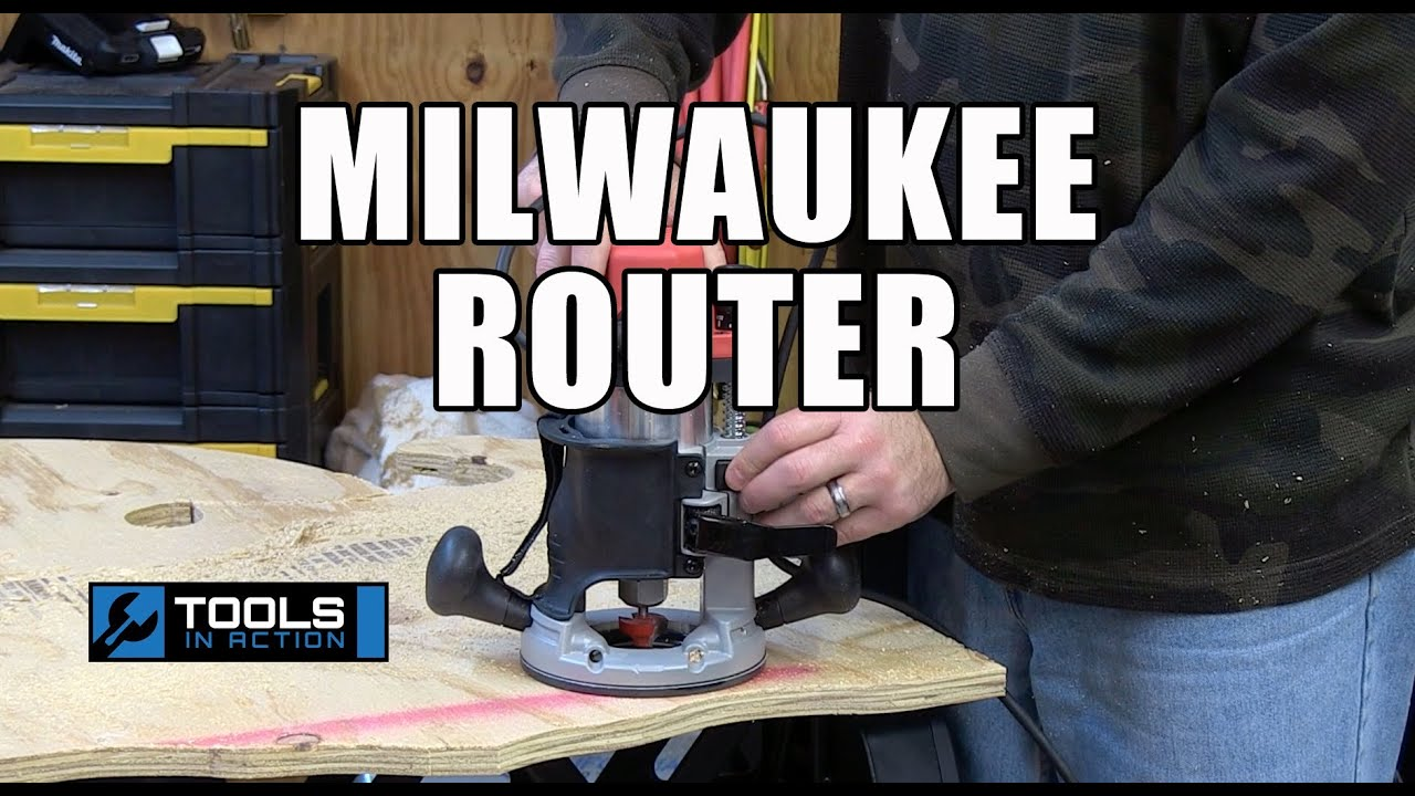 Milwaukee 5615-20 1-3//4 Max HP BodyGrip Router