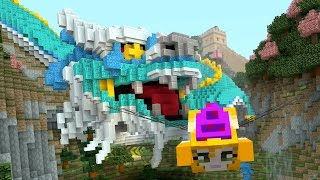 Minecraft - Can you beat my time? - Glide Mini-game - Dragon