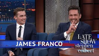 James Franco Does BYOB (Bring Your Own Brother) thumbnail