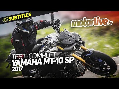 YAMAHA MT-10 SP | TEST COMPLET [SUBTITLES]