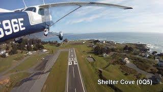 Flight Red Bluff (RBL) - Mount Shasta - Shelter Cove (0Q5) - Point Reyes - Petaluma (O69)