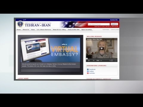 "US opens ""virtual embassy"" for Iran"