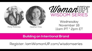 Wisdom Session * Building An Intentional Brand