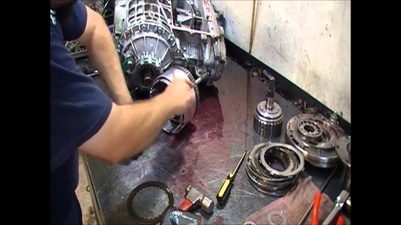 42LE Transmission (A606) Teardown Inspection - Transmission Repair