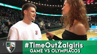 #TimeOutŽalgiris Se04 Ep07 (Game vs Olympiacos)