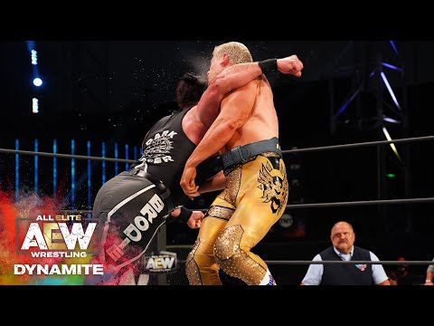Must See Shocking Cody vs Brodie Lee TNT Championship Match | AEW Saturday Night Dynamite 8/22/20