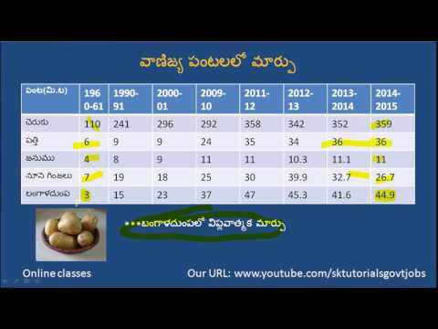Role of Green Revolution in India.Telugu.Hints
