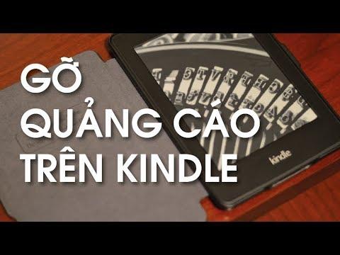 Gỡ quảng cáo trên máy đọc sách kindle – maydocsach.info