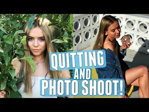 QUITTING MY JOB & INSTAGRAM PHOTOSHOOT BTS! | RCvlogs #18