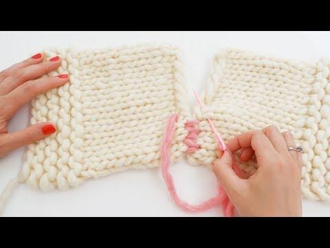 comment assembler tricot